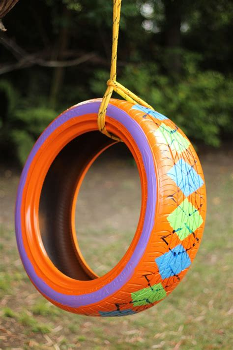 tire swing painting how to paint a rubber tire ehow