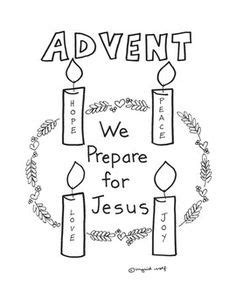 advent wreath coloring page catholic kids advent wreath free printables look to him and be