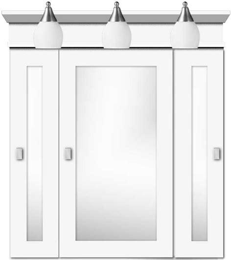 30 inch wide white medicine cabinet 30 quot wide tri view square framed satin white medicine