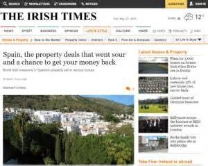 irish sunday times business section independent consultant