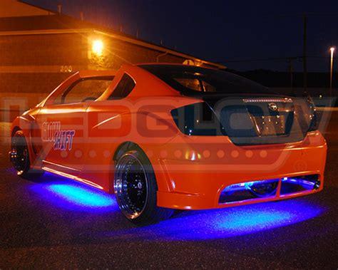 Lu Neon Led ledglow 4pc blue slimline solid led underbody underglow
