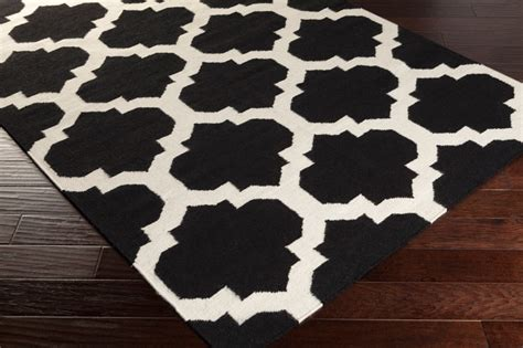 Black White And Rug by Harlow Rug In Black And White By Artistic Weavers