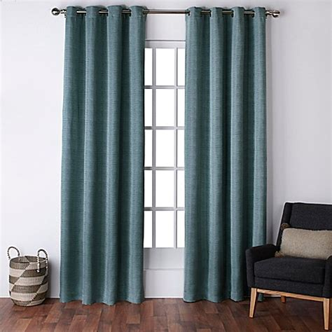 96 grommet curtains exclusive home virenze 96 inch grommet top window curtain