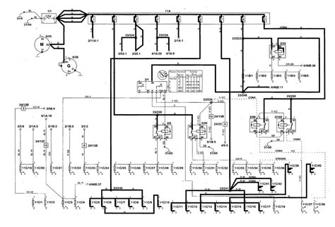 volvo c70 1999 2004 wiring diagrams power