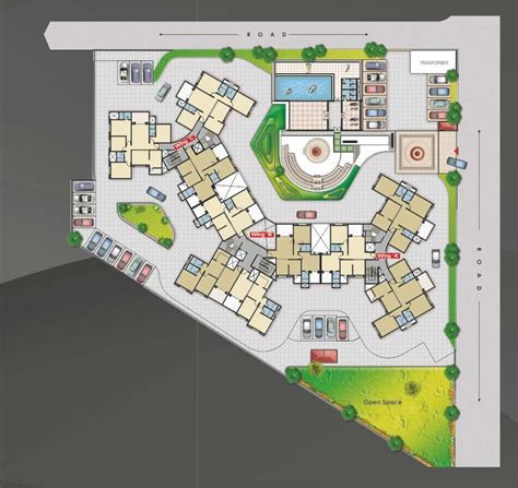 layout plan nashik 1553 sq ft 3 bhk 3t apartment for sale in nishant builders