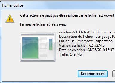 pc astuces supprimer un fichier récalcitrant