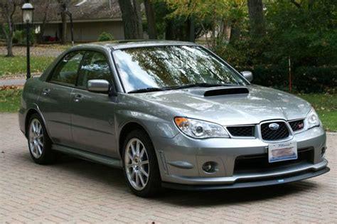 2007 subaru impreza wrx sti limited for sale buy used 2007 subaru impreza wrx sti limited sedan 4 door