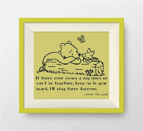 cross stitch pattern free quotes buy 2 get 1 free winnie the pooh cross stitch pattern