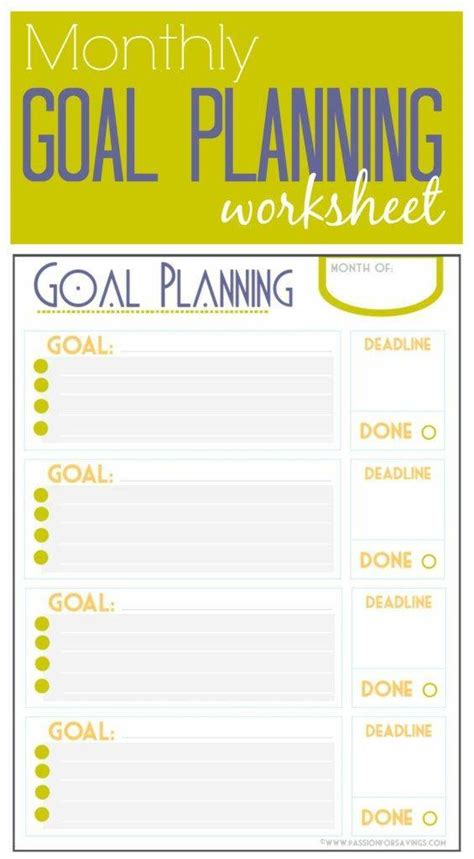 free printable monthly goal sheets free printable daily planner daily docket and weekly