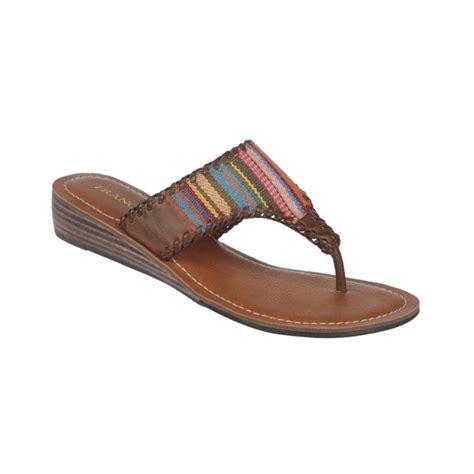 franco sarto sandals franco sarto cavo sandals in brown lyst