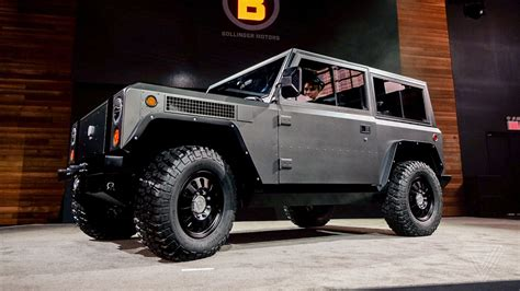 tesla 4x4 truck the bollinger b1 is an all electric truck with 360