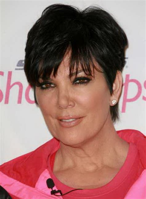 back of chris jenners hair kris kardashian haircut
