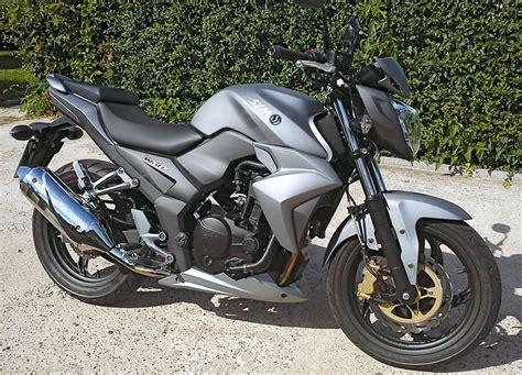 Leichtes Motorrad 250ccm by Sym Wolf 250 Ni Kradblatt