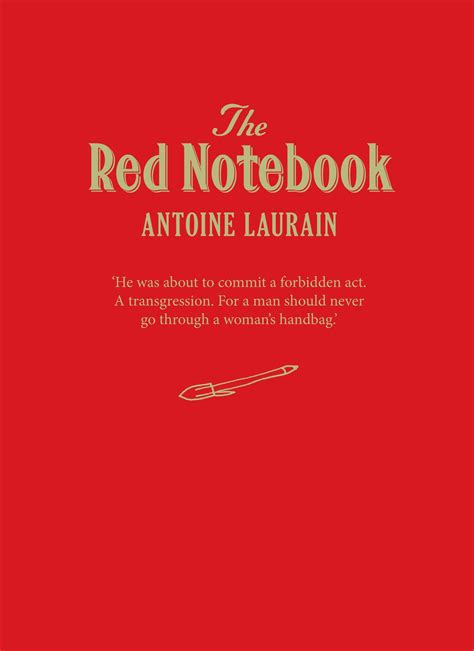 the red notebook the red notebook special edition belgravia books collective