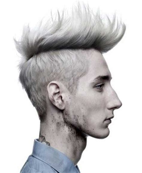 pictures of best hair style for stringy hair men mohawk hairstyle mens hairstyles 2017