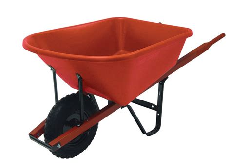 garant wheelbarrow 6 cu ft poly tray the home depot canada