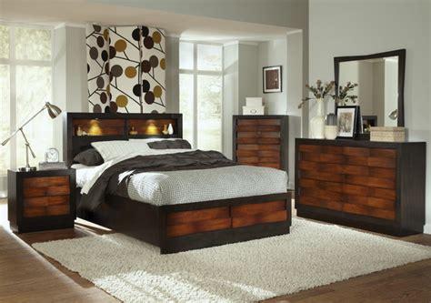 shop houzz coaster rolwing pc california king storage bedroom set  reddish oakespresso beds