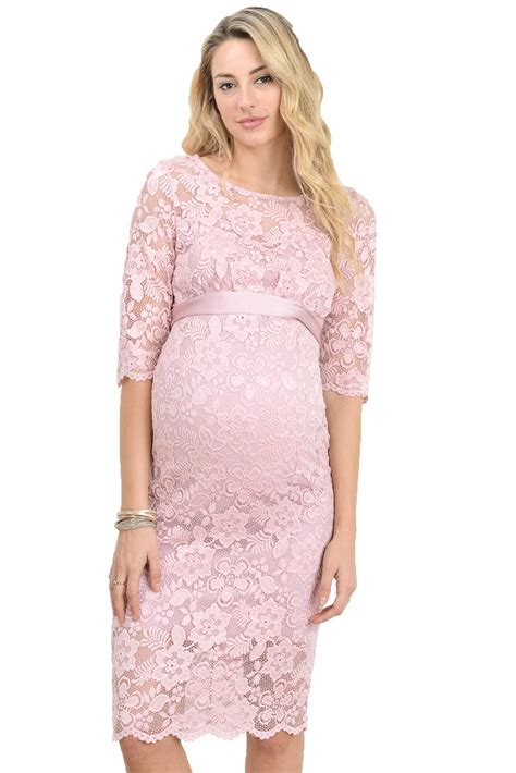 Pink Baby Shower Maternity Dresses by Hello Miz S Baby Shower Floral Lace Maternity Dress