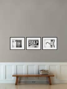 Bathroom Wall Decor by Bathroom Decor Set Of 3 Photographs Bathroom Art Set