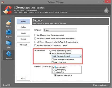 ccleaner win7 32 bit ccleaner 64 bit windows 7 chip