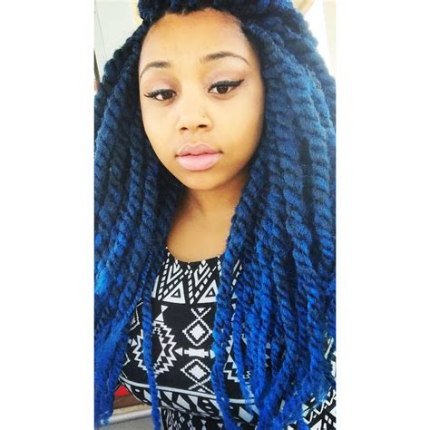 dark blue marley hair blue marley hair 17 best images about hairstyles on