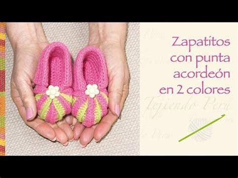 zapatos crochet paso a paso youtube crochet paso a paso zapatos con punta acorde 243 n en 2