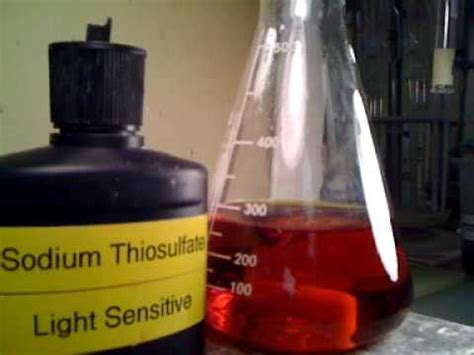 Sodium Thiosulfate Detox Dosage by Standardization Of Sodium Thiosulphate Doovi