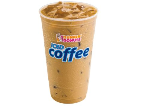 Iced Coffee Dunkin Donuts get a free iced coffee at south florida dunkin donuts on