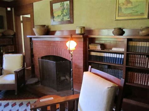 marston house san diego marston house study fireplace