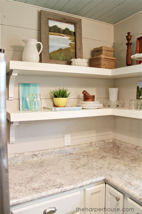 kitchen shelves how to add quot fixer upper quot style to your home open