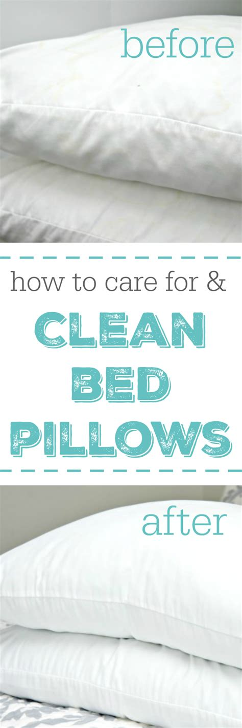 How To Clean A Pillow by How To Clean Bed Pillows 4 Real