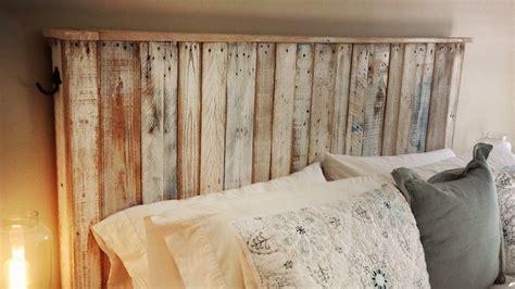 palette tete de lit 1192 t 234 te de lit en palette comment la fabriquer tuto diy
