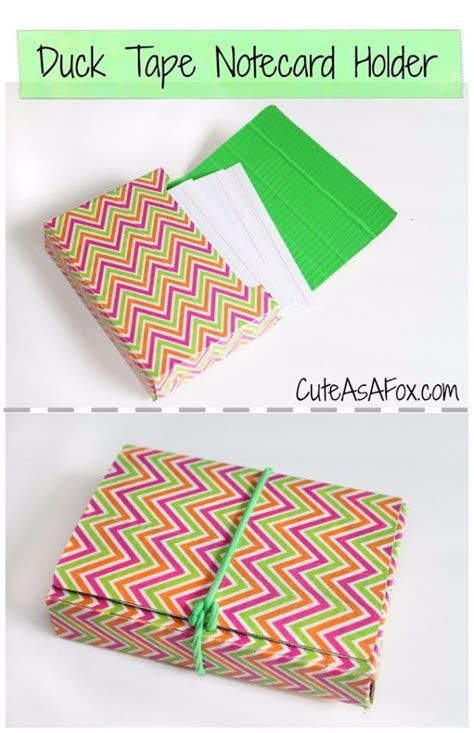 how to make a duct card holder 50 best back to school diy ideas diy projects for