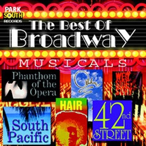broadway best the best of broadway musicals orpheus various artists