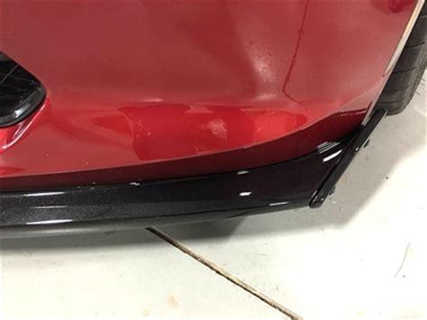 c7 corvette stingray z06 painted front splitter