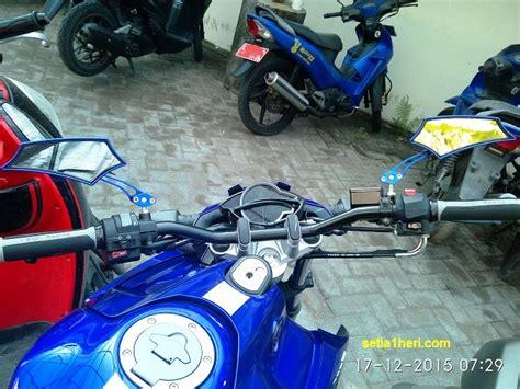 Stang Byson Original Yamaha modifikasi minimalis yamaha nva livery moto gp ini bikin gagah sporty setia1heri