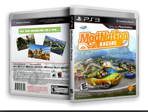 Cd Modnation Racers modnation racers playstation 3 box cover by olkul