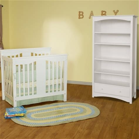 Davinci Mini Crib Annabelle Da Vinci 2 Nursery Set Annabelle Mini Crib 5 Shelf Bookcase White Free