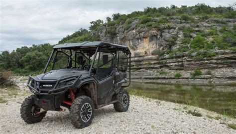 hog adventure with the honda pioneer 1000 5 le atv