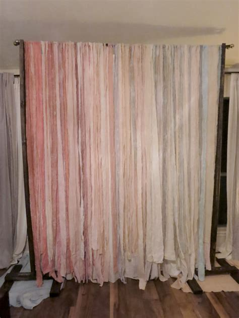 diy wedding curtain backdrop to dye for diy backdrop part ii evan katelyn home