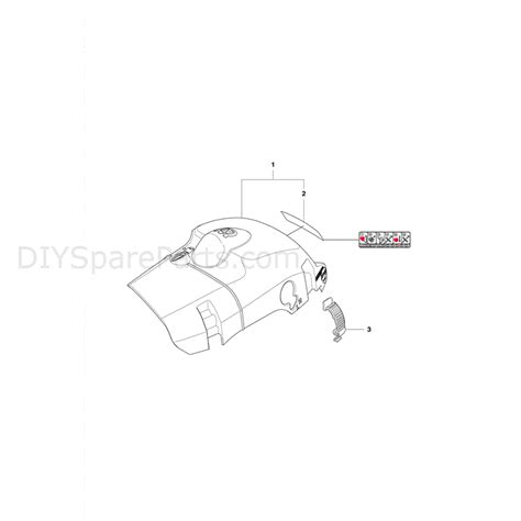 husqvarna 445 chainsaw parts diagram husqvarna 445e chainsaw 2011 parts diagram cylinder cover
