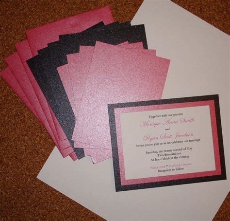 25 best ideas about handmade wedding invitations on