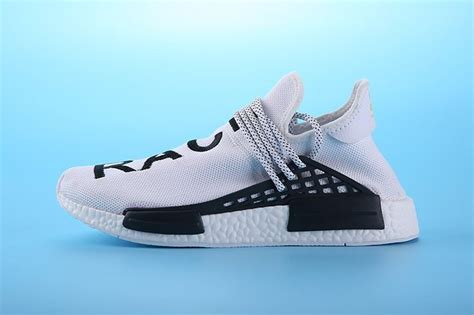 Sepatu Running Adidas Human Race Pharel Williams pharrell williams x adidas nmd human race white black