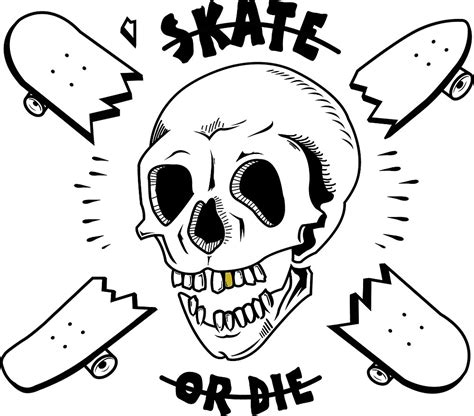 Home Decor Logos quot skate or die quot by domlast redbubble