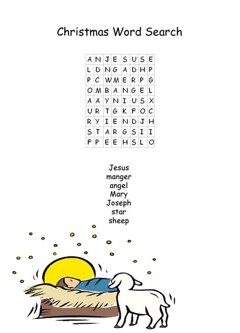 printable nativity word search easy christmas word search hd wallpapers blog