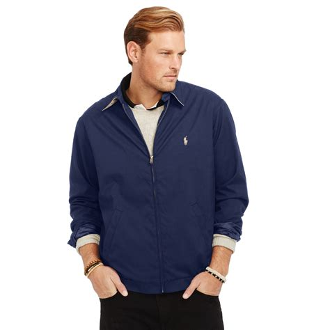 polo ralph lauren bi swing windbreaker ralph lauren bi swing windbreaker in blue for men lyst