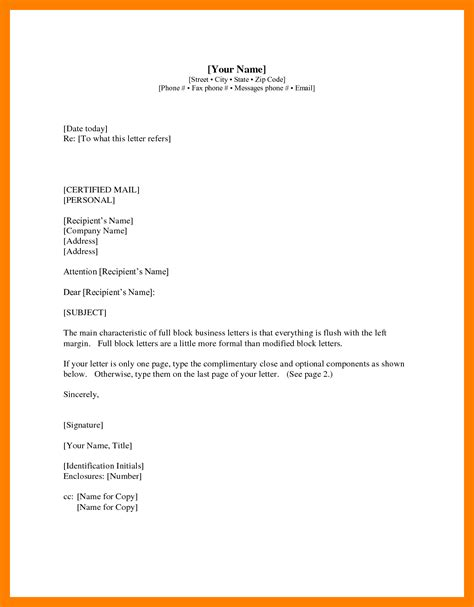 Official Letter Format Cc 4 Formal Letter Format With Cc Teller Resume