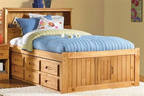 full size captain bed expeditions full size bookcase captains bed full size