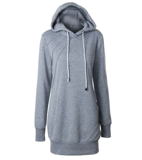 Sweaterhoodie Jumper Terbaru womens hooded sweatshirt sleeve sweater hoodies jumper mini dress ebay