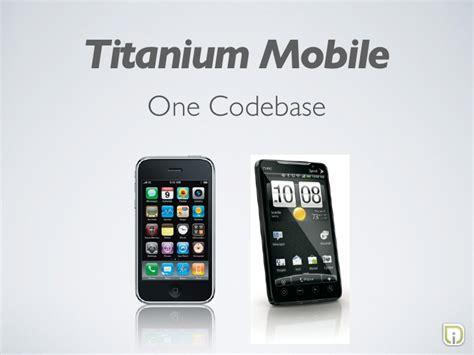 titanium mobile building apps with titanium mobile